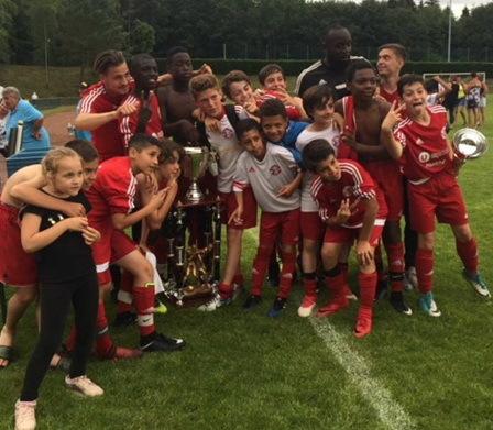 Les U13-1 vainqueurs de l'Europa Cup à Metz