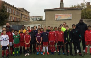 Une cinquantaine d'enfants au stage de foot de l'AS Montchat !