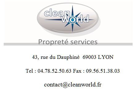 Cleanworld propreté services