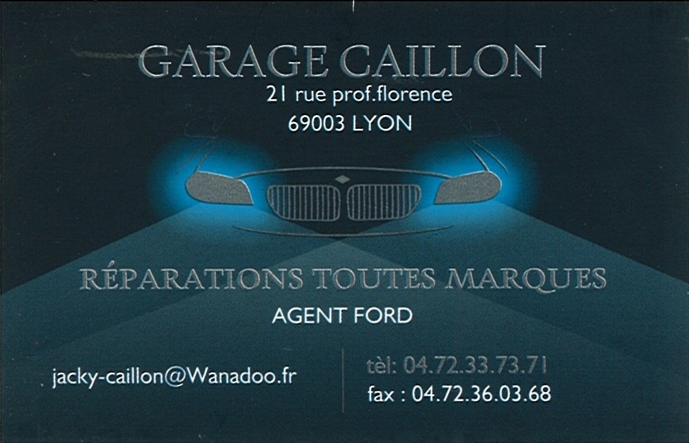 GARAGE CAILLON